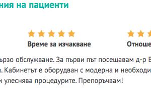 Д-р Виолета Велчева, Зъболекар (Стоматолог), София | Супердок 2020-01-07 19-50-34