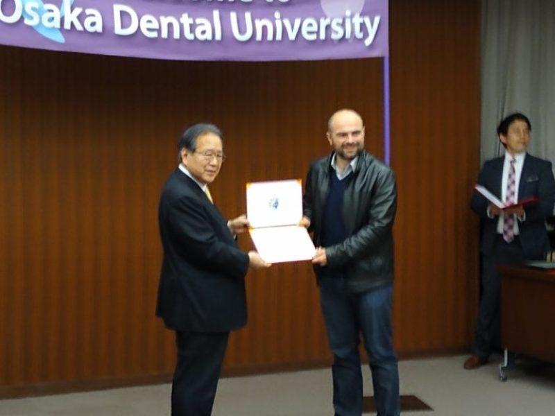 Д-р Ерхан Салиев – Имплантологичен семинар на NeoBiotech в Япония