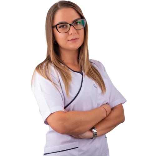 Специалист Ортодонт и Стоматолог  От 2017 г. д-р Велчева работи като лекар по дентална медицина. Част от екипа специалисти на Saliev Dental Care София. Владее английски език.